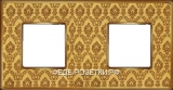 FEDE Vintage Tapestry Светл. зол. / Гобелен зол. Рамка 2-я DECORGOLD Bright Gold (Oro Brillo)