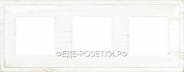 FEDE Madrid White decape Рамка 3-ая FD01243BD