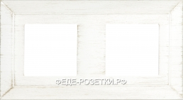 FEDE Barcelona White decape Рамка 2-ая (FD01252BD)